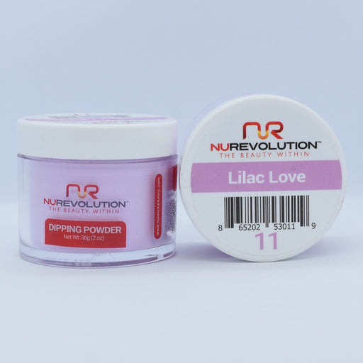 NuRevolution Dipping Powder, 011, Lilac Love, 2oz OK0502VD