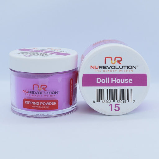 NuRevolution Dipping Powder, 015, Doll House, 2oz OK0502VD