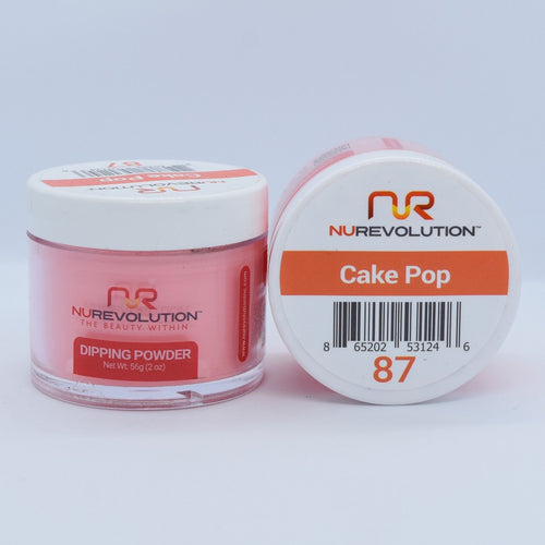 NuRevolution 3in1 Dipping Powder + Gel Polish + Nail Lacquer, 087, OK1129