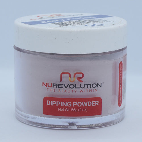 NuRevolution 3in1 Dipping Powder + Gel Polish + Nail Lacquer, 090, OK1129