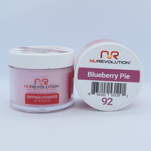 NuRevolution 3in1 Dipping Powder + Gel Polish + Nail Lacquer, 092, OK1129
