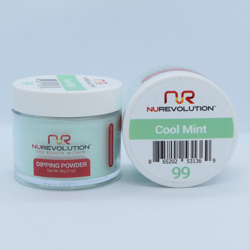 NuRevolution 3in1 Dipping Powder + Gel Polish + Nail Lacquer, 099, OK1129