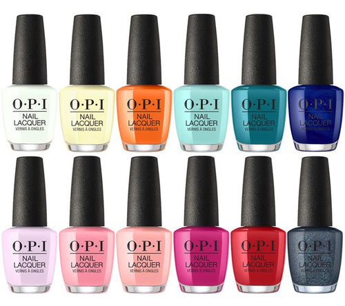 OPI Nail Lacquer 4, Grease Summer 2018 Collection, Full Line of 12 Colors (from NL G41 to NL G52, Price: $4.5/pc)