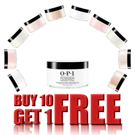 OPI Dipping Powder, 4.25oz, Buy 10 get 1 FREE