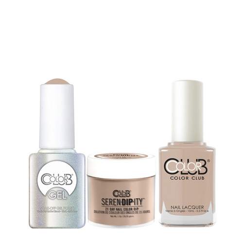 Color Club 3in1 Dipping Powder + Gel Polish + Nail Lacquer , Serendipity, Once Upon a Time, 1oz, 05XDIP1127-1 KK