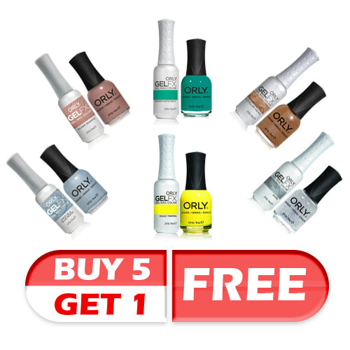 Orly Perfect Pair Lacquer & Gel FX Buy 5 Get 1 FREE!