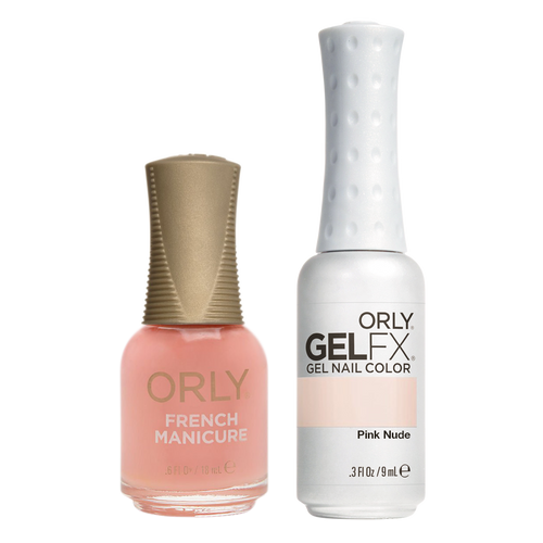 Orly Perfect Pair Lacquer & Gel FX, 31120, Pink Nude