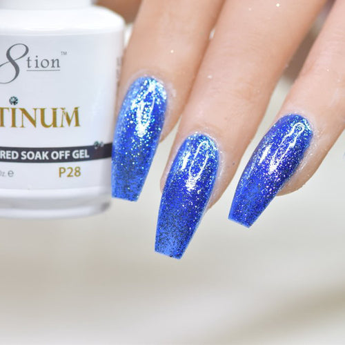 Cre8tion Platinum Gel Polish, P28, 0916-0550, 0.5oz KK0912