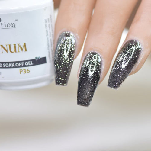 Cre8tion Platinum Gel Polish, P36, 0916-0558, 0.5oz KK0912