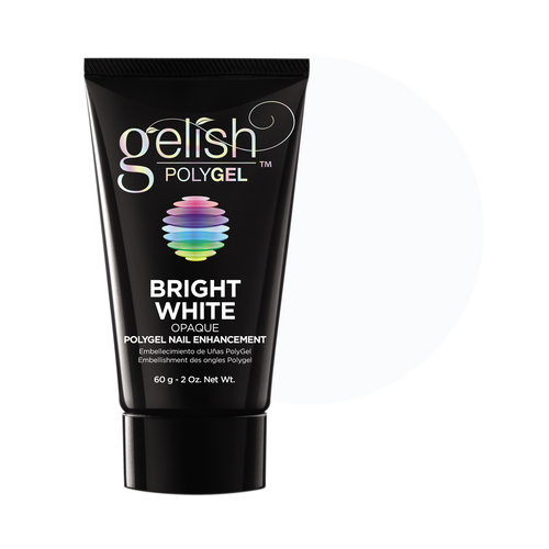 Gelish PolyGel, 1712003, Bright White, 2oz BB KK