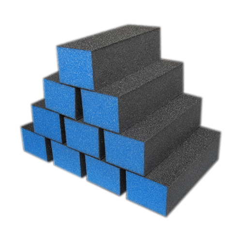 Dixon PREMIUM 3-Way Buffer, BLUE Buffer, BLACKGrit 100/180 KK