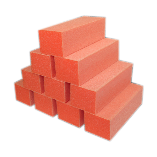Dixon PREMIUM 3-Way Buffer, ORANGE Buffer, WHITE Grit  80/100 KK