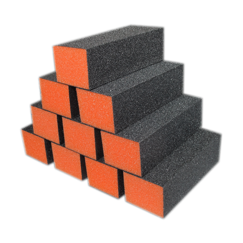 Dixon PREMIUM 3-Way Buffer, ORANGE Foam, BLACK Grit 100/100 KK