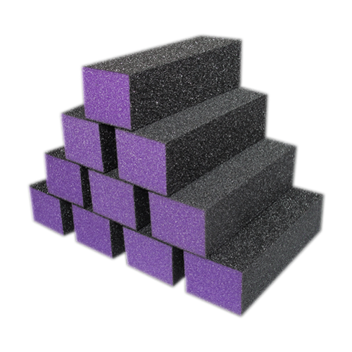 Dixon PREMIUM 3-Way Buffer, PURPLE Foam, BLACK Grit 60/100 KK