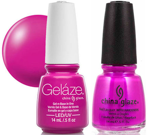 Gelaze Duo Gel, 83699, Purple Panic, 0.5oz