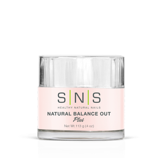SNS Dipping Powder, 07, NATURAL BALANCE OUT, 4oz (Packing: 40 pcs/case)
