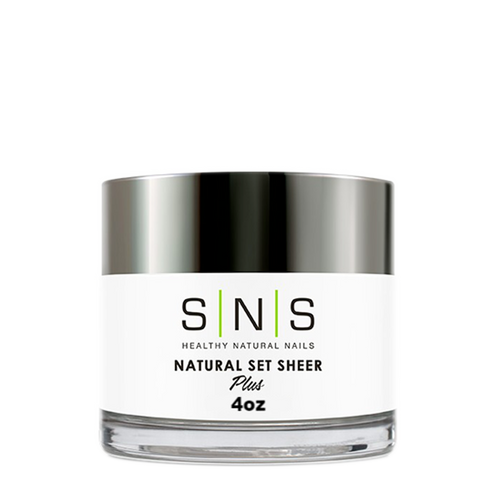 SNS Dipping Powder, 04, NATURAL SET SHEER, 4oz KK1107