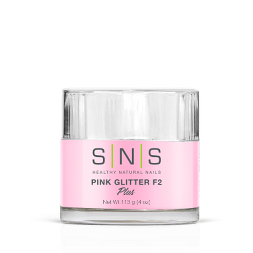 SNS Dipping Powder, 12, PINK GLITTER F2, 4oz KK1107