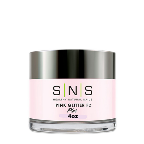 SNS Dipping Powder, 12, PINK GLITTER F2, 2oz KK1107