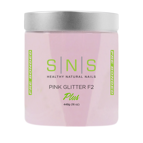 SNS Dipping Powder, 12, PINK GLITTER F2, 16oz KK1107