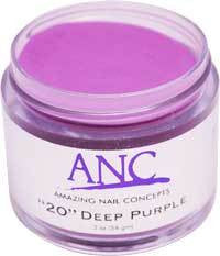 ANC Dipping Powder, 2OP020, Deep Purple, 2oz, 600020 KK