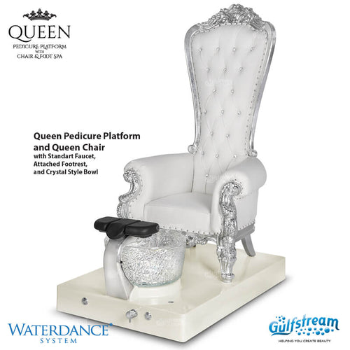 Queen pedicure platform, Queen OK0305MN (NOT Included Shipping Charge)