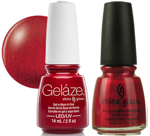 Gelaze Duo Gel, 83691, Red Pearl, 0.5oz