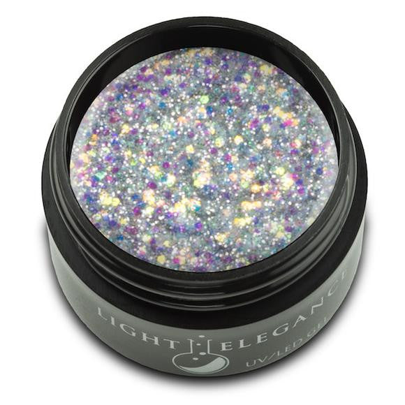 Light Elegance, UV/LED Glitter Gel, G119E, Radiant, 17ml KK