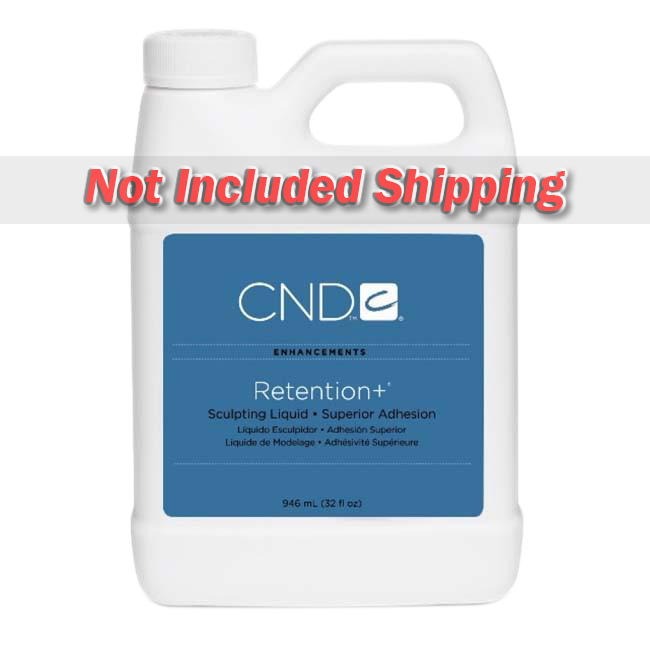 CND Retention+ Liquid (EMA - No MMA), 64oz, 01032