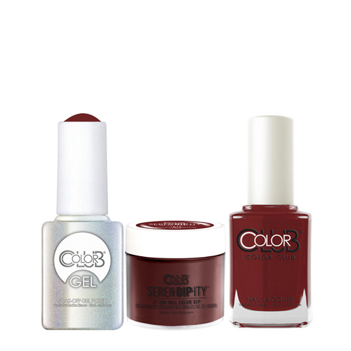 Color Club 3in1 Dipping Powder + Gel Polish + Nail Lacquer , Serendipity, Rocky Mountain High, 1oz, 05XDIP1070-1 KK