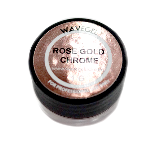 Wave Gel Nail Art Hyper Chrome, Rose Gold, 1oz OK1129