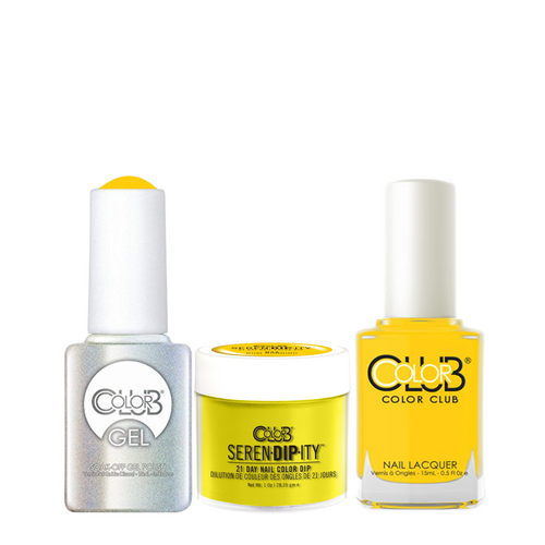 Color Club 3in1 Dipping Powder + Gel Polish + Nail Lacquer , Serendipity, Rum Running, 1oz, 05XDIPN43-1 KK