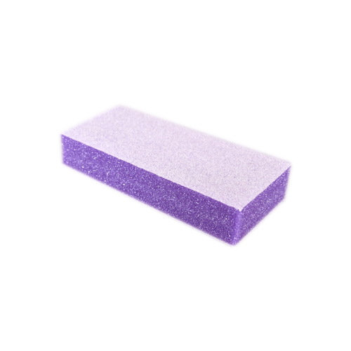 Dixon SLIM 2-Way Buffer, PURPLE Foam, WHITE Grit 100/180 KK