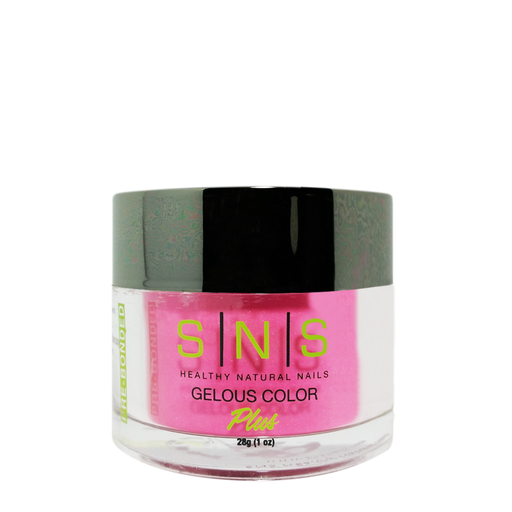 SNS Gelous Dipping Powder, SP21, Spring Collection, Don't Be Shy, 1oz BB KK