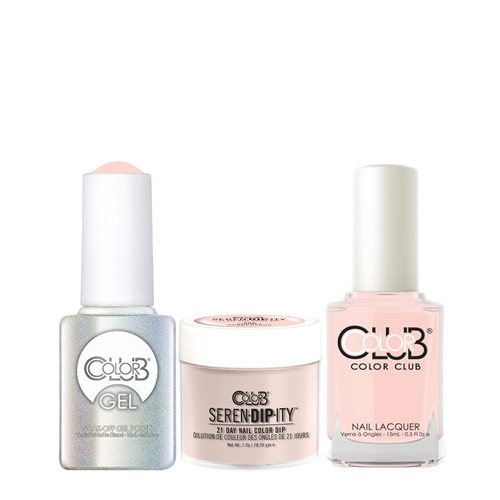 Color Club 3in1 Dipping Powder + Gel Polish + Nail Lacquer , Serendipity, Secret Rendezvous, 1oz, 05XDIP906-1 KK