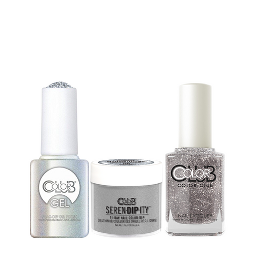 Color Club 3in1 Dipping Powder + Gel Polish + Nail Lacquer , Serendipity, Sex Symbol, 1oz, 05XDIP842-1 KK