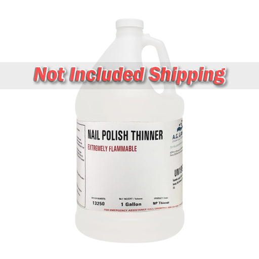 A.G.Layne Nail Polish Thinner, 99625, 1 Gal