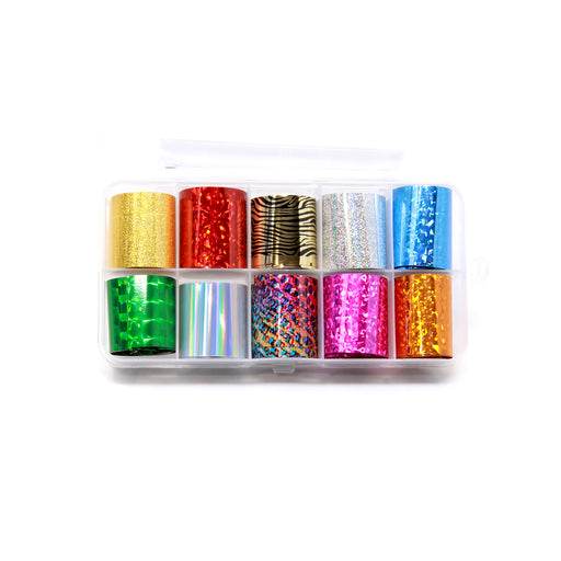 NCI Nail Art Transfer Foil, Small, Collection 1 OK0424VD