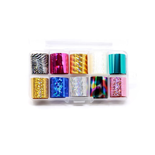 NCI Nail Art Transfer Foil, Small, Collection 2 OK0424VD