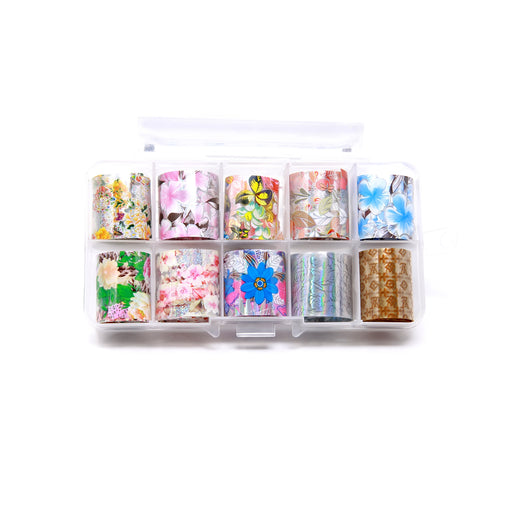 NCI Nail Art Transfer Foil, Small, Collection 11 OK0424VD