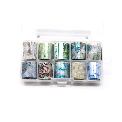 NCI Nail Art Transfer Foil, Small, Collection 12 OK0424VD