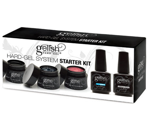 Gelish Hard-Gel System, Starter Kit, 01560 BB