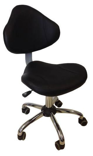 Cre8tion Technician Chair Black, TC001BK (NOT Included Shipping Charge)