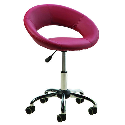 Cre8tion Technician Chair, Burgundy, TC002BU (NOT Included Shipping Charge)