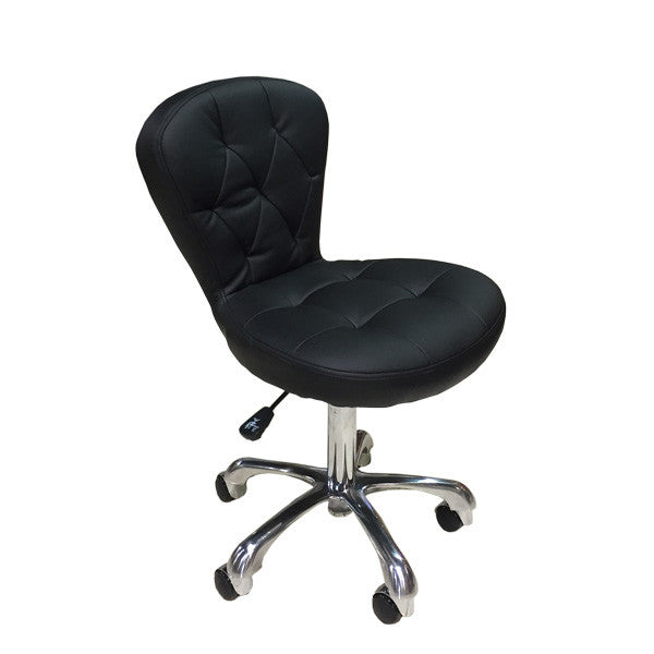 Cre8tion Technician Chair Black, TC003BK (NOT Included Shipping Charge)