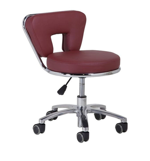 Cre8tion Technician Stools, Brigth Burgundy, TS001BB (NOT Included Shipping Charge)