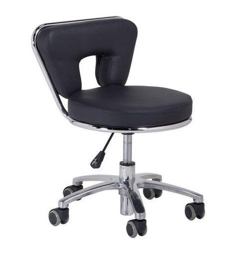 Cre8tion Technician Stools, Black, TS001BK (NOT Included Shipping Charge)