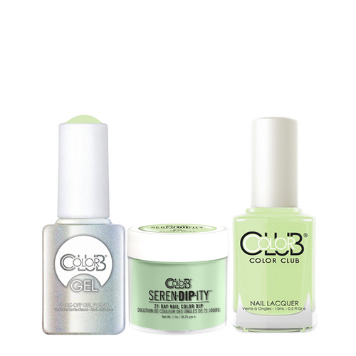 Color Club 3in1 Dipping Powder + Gel Polish + Nail Lacquer , Serendipity, 'Til the Record Stops, 1oz, 05XDIPN35-1 KK