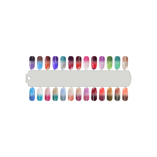 Cre8tion Mood Changing Gel Polish, 0.5oz, Full Line of 48 colors (from M01 to M48, Price: $8.29/pc) Pro