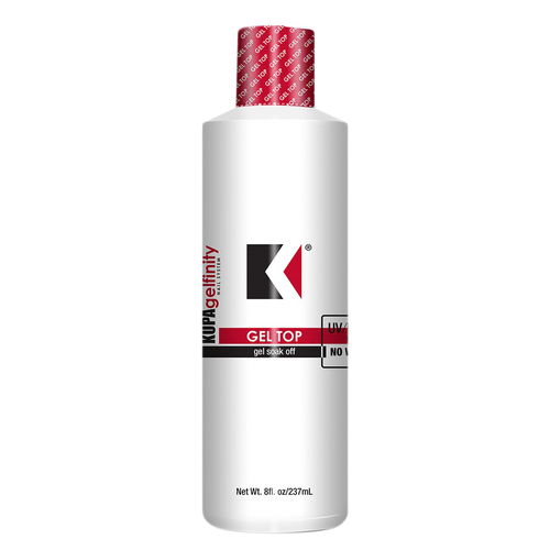 Kupa Gelfinity, Top Coat Gloss No Wipe, 8oz KK1211